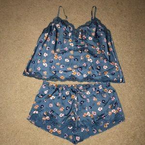 Victoria Secret Floral Pajama Set